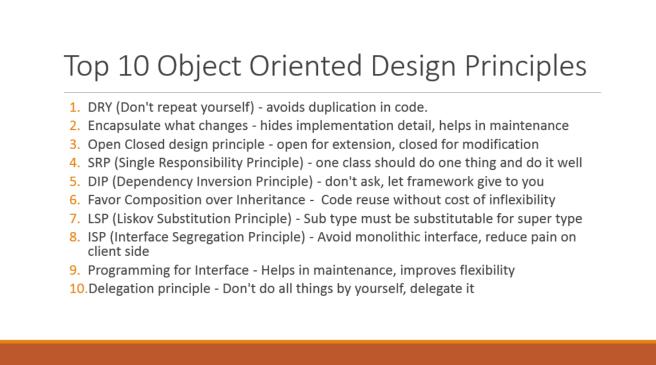OOP principle